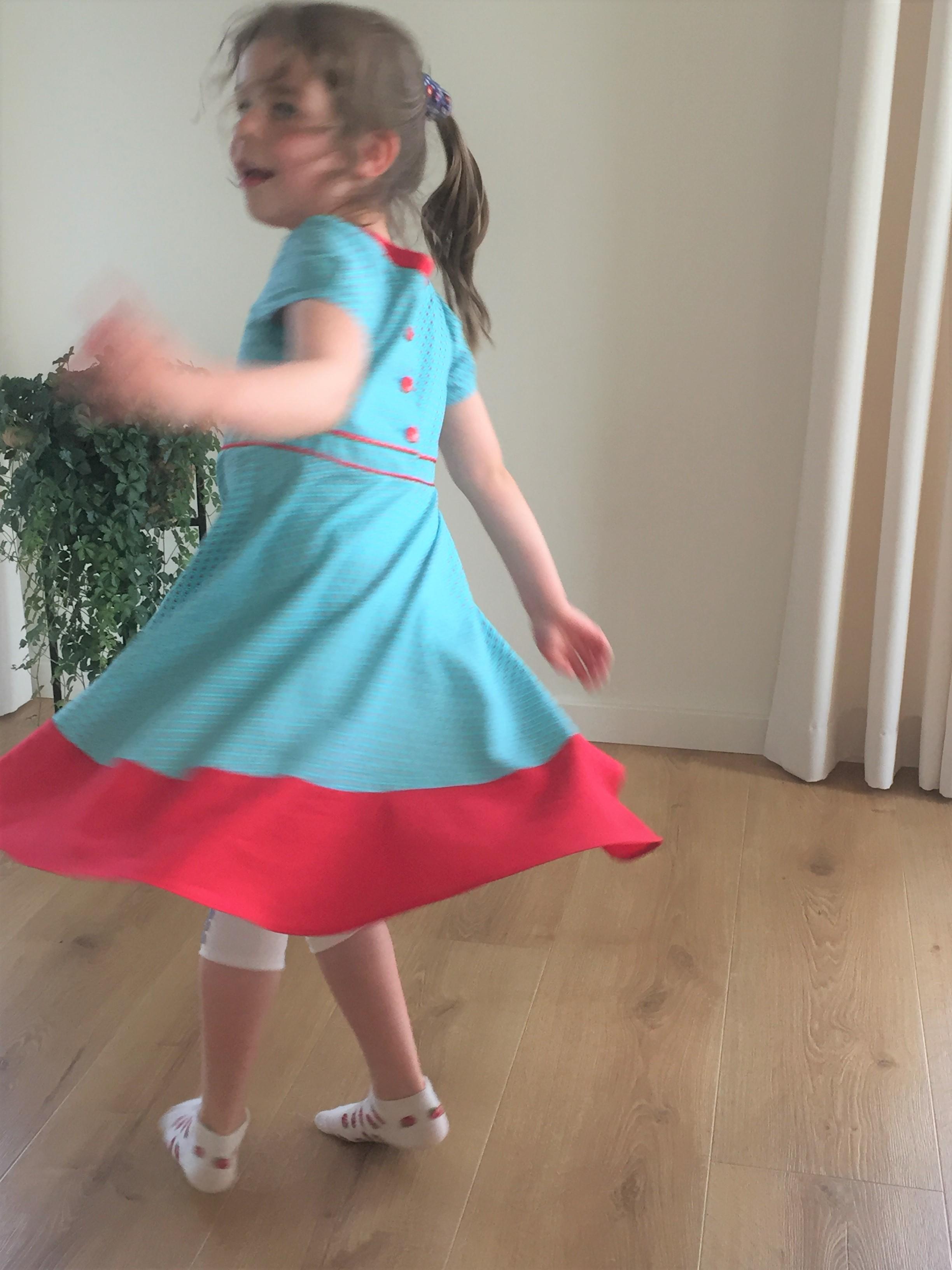 Zomerjurk voor mijn dochter